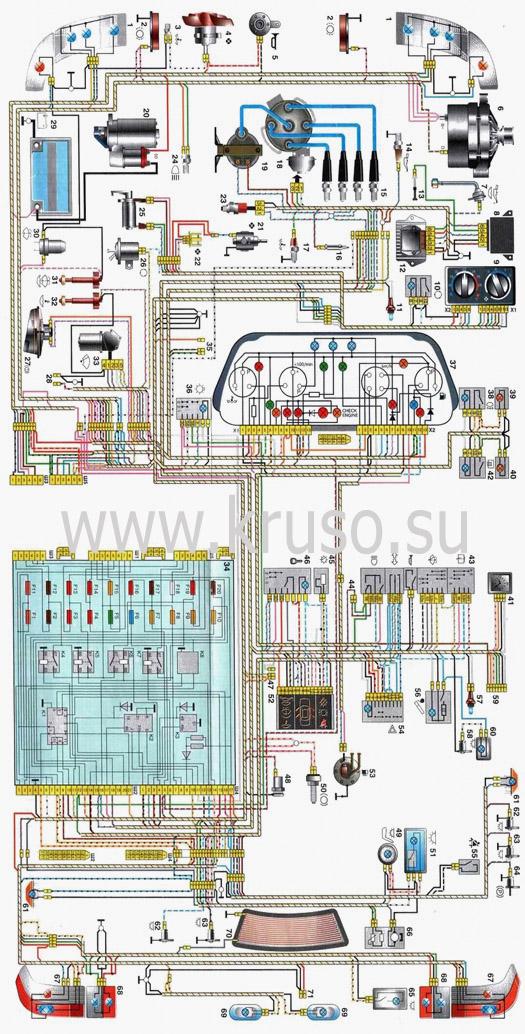 Фото №21 - неисправности электрооборудования ВАЗ 2110 инжектор