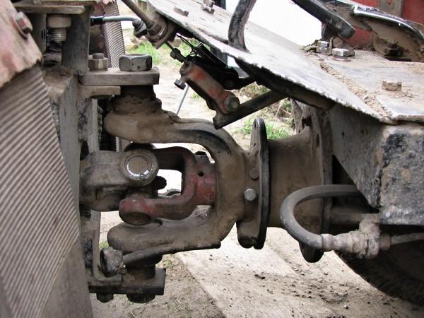 Как сделать раму на трактор переломную раму