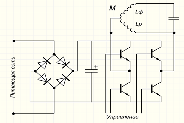 Частотник для электродвигателя 142